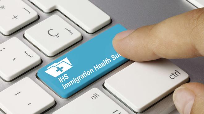 Иммиграционный медицинский сбор IHS - Immigration Health Surcharge