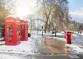 Зима в Лондоне