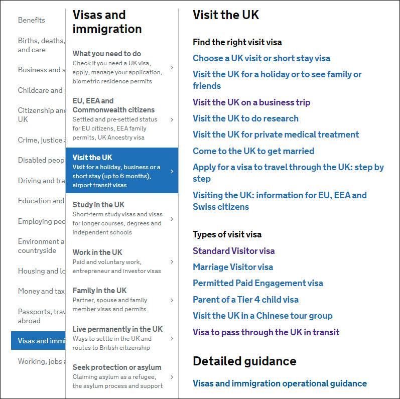 Анкета на визу онлайн